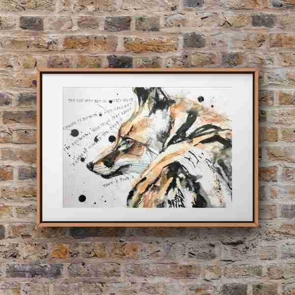 fox_painting-on_wall